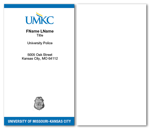 item samplepreview - Police Business Cards